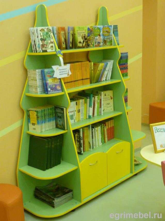 Стеллажи детские для книг библиотечная мебель каталог товаро.