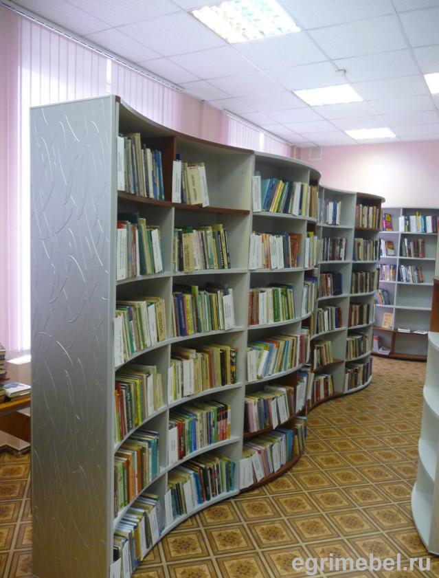 """Стеллажи для книг библиотечная мебель каталог товаров ооо """"э."""